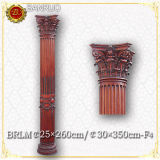 Wood Columns (BRLM25*260-F4) for Home Decoration