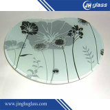 Tempered 3-12mm Silk Screen Printing Glass for Furniture