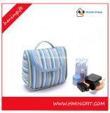 Fashionable Stripe Hand Wash Gargle Cosmetic Bag