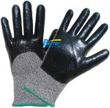 Nitrile Foam Dipped Cut Resistant Hppe Work Gloves (BGDN106)