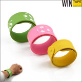 Promotional Colorful Sports Silicone Custom Slap Bracelets (SB-003)
