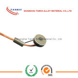 Soldering iron with a thermocouple sensor used for pipeline / bearing temperature measuring