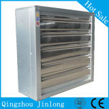 Ventilation Fan with Centrifugal Shutter for Poultry and Green House