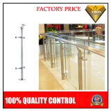 Stainless Steel Railing with Glass for Hotel and Shopping Mall Project