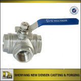 Stainless Steel Ball Valve with Handles