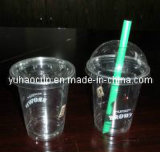 Disposable Plastic Coffee Cup, Ice Cream Cup, Fruit Cup (YHP-005)