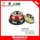 Stainless Steel Pet Bowl, Wholesale Dog Bowl (YE78138)