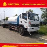 Sinotruk Cdw 4000 Litres Water Sprinkler Tank Truck for Gardening