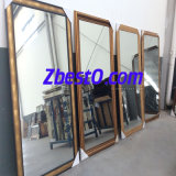 Custom Large Decorative Framed/Frameless Bathroom Wall Mirror (round/oval/rectangular/square)