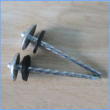 Galvanized Umbrella Head Roofing Nails with Washer