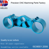 Small MOQ Blue Anodize Precision Aluminum Machining CNC Parts