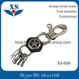 New Custom Leather Metal Key Ring