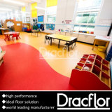 High Traffic Use PVC Flooring Sheet Vinyl Floor (F-2087)