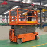 Mobile Hydraulic Scissor Lifting Platform for Outdoor Use
