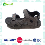 EVA and TPR Sole and PU and Nubuck Upper, Men′s Sandals