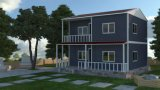 Steel Frame Prefab Condo Apartment/Office Building with One-Stop Solution