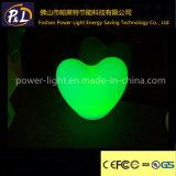 Beautiful Color Flashing Decorative Heart Shape LED Desk Lamp