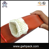 Silicone Coated Fire-Protective Fiberglass Sleeve for Hydraulic Fluid Power