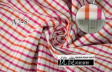 Red/Orange Checks Chequer Yarn Dyed Shirt Fabric
