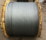 6*36 FC Iwrc Galvanized DIN3064 Steel Wire Rope for Lift