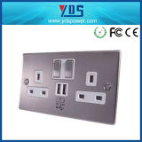 UK 2.1A Standard Wall Electrical Switch Sockets