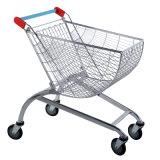 Arc-Shaped/Fan-Shaped Supermarket Shopping Trolley/Cart (YD-R)