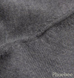 100% Italy Wool V Neck Hemming Boy's Sweater or Children Clothing