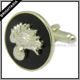 Custom Metal Cuff Link for Security Army Emblem (BYH-10430)