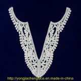 Rayon Lace /Embroidery Collar Lace for Clothes (YJC14665)