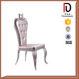 High-End Heart-Shaped Stainless Steel Chair