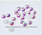 2088 Best Bling Cutting Copy Swar Crystal Ab Non Hotfix Glass Flat Back Rhinestone (FB-24)