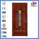Apartment Wooden Entrance Wood Pocket Door (JHK-FD07)