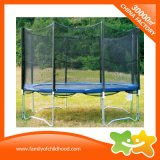 Outdoor Play Equipment Net Round Trampoline for Sale