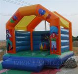 Jumping Castle Inflatables with Roof Cover for Boys and Girls (B1066)