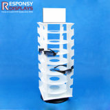 Acrylic Counter Hooks Rotating Display Stand for Sunglasses