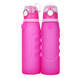1000 Ml Collapsible Sport Wide-Mouth Reusable Drinking Water Bottle