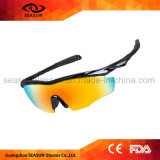 Wholesale Fashion Mirror Coating UV Protective Outdoor Sport Cycling Running Driving Volleyball Sunglasses