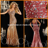 Mermaid Evening Dresses Rhinestones Sequins Prom Dress P14642