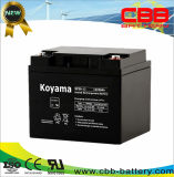 Long Cycle Life SLA Battery Power Storage Battery 38ah 12V