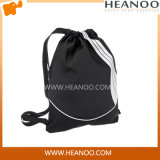 Black Wholesale Custom Womens Man Sport Drawstring Gym Bag Backpack