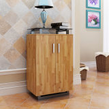 Furniture Filing Cabinet for Storage with Glass Top