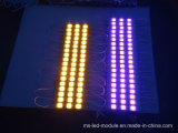 12V IP65 3 Chips 5730 Injection LED Module with Different Color Case