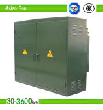 Compact American Type Transformer Box Type Transformer Substation