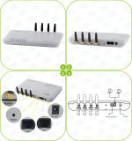 4 Channels GSM VoIP Gateway with 4 SIM Card GoIP4