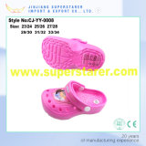 New Design Hot Sell Eco-Friendly Girls EVA Clog Shoes High Heel EVA Slipper Sandals