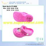 New Design Hot Sell Eco-Friendly Girls EVA Clog Shoes High Heel EVA Slipper Sandals