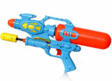 OEM Plastic Double Sprinklers Beach Children Water Pistol Toy Gun