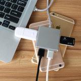 Multi-Functional Hub Multi Port USB 4 Port Splitter Charger