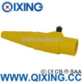 Cee Norm Large Current Yellow Rhino Horn Connector