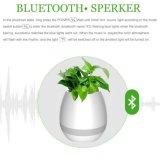 New Plastic Flower Pot Bluetooth Speaker Smart Flower Pot Mini Speaker Music Flower Pot for Office and Home